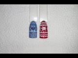 Дизайн ногтей. Эффект свитера