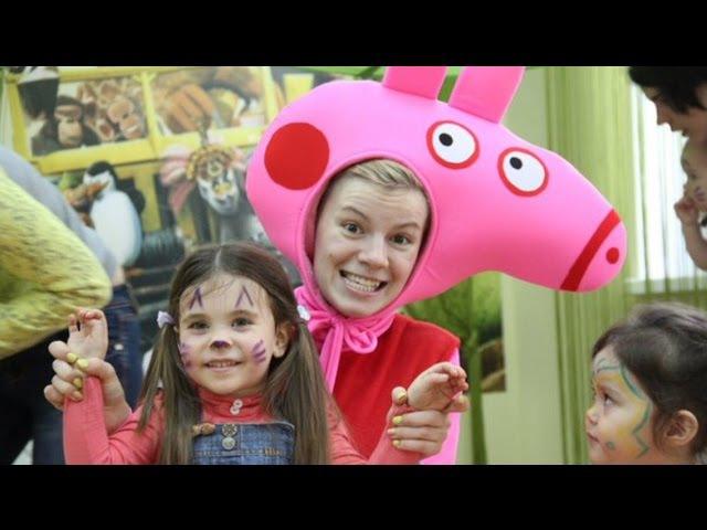 Свинка Пеппа в детском клубе Жираф