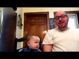 Dad Sings while Feeding Baby 5
