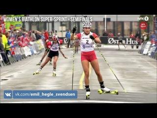 Blink 2015 - День 3 - биатлонные супер-спринты - женские полуфиналы