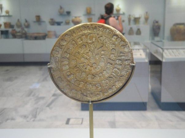 археологический музей крита ираклион фестский диск