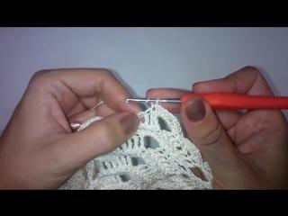 3 Обвязка горловины и низа платья Зефир Дополнительное видео