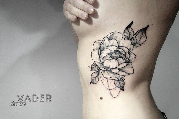 Випшейдинг цветы тату