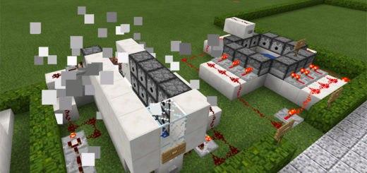 Карта 25 Redstone Creations для Minecraft PE 0.14.X