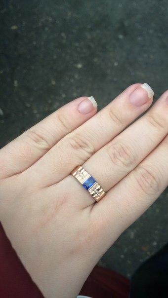 Шикарное кольцо, спасибо, папе очень