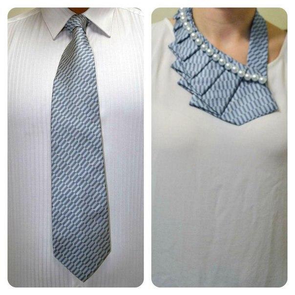 Что можно сделать из галстуков своими руками