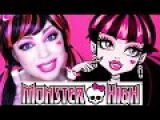 Monster High - Draculaura MAKEUP!