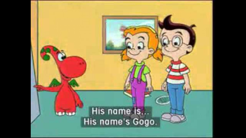 Английский для детей Gogo loves English 2