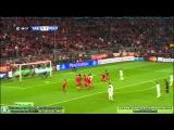 Бавария - Реал мадрид Гол Роналду со штрафного (4-0)