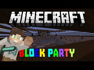 Minecraft Mini-Game : BLOCK PARTY!
