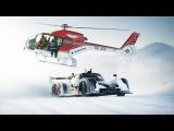 Supercar Drifting Uphill in Snow - Jon Olsson's Rebellion R2K - Team Betsafe