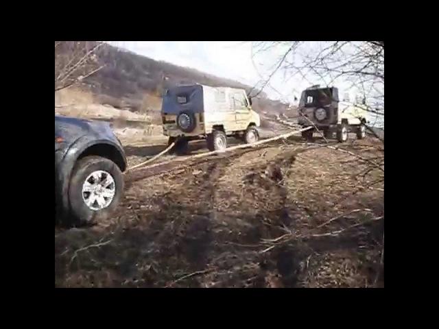 луаз по грязи часть 1 и L 200 ДНЕПР
