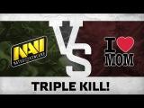 Triple kill! by Ditya Ra vs Mamas Boys @ Shangai Major Europe