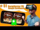 #51 Стрелялка, убей микробов в виртуальной реальности с пистолетом. Обзор AR VR игры для Cardboard