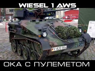 Wiesel 1 AWS на затерянных островах
