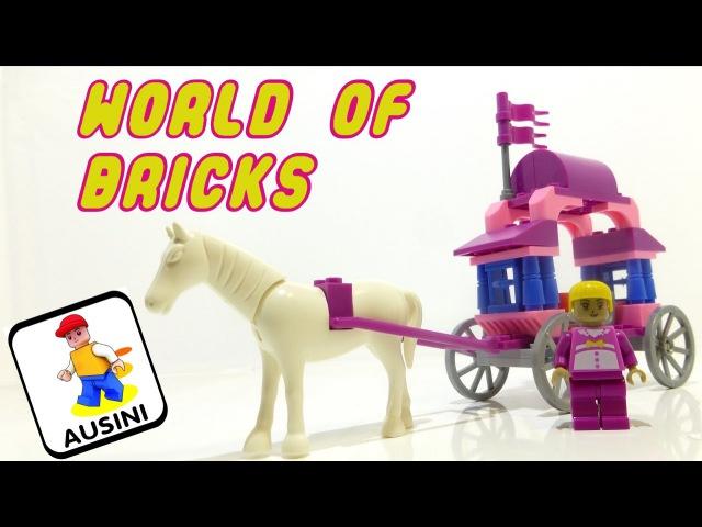 Ausini Страна Чудес 24201 Конструктор Для девочек Lego