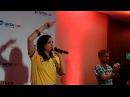 Ever After Con 2015 - Finale - Lana singing Demons with fans
