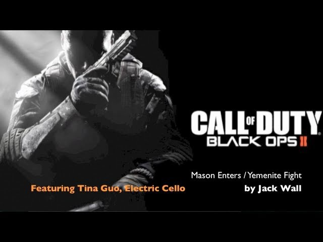 Call of Duty: Black Ops 2 Soundtrack featuring Tina Guo, Electric Cello