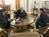 Губернатор Свердловской области встретился с Александром Калягиным
