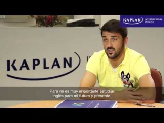 David Villa estudia inglés en Kaplan International Nueva York