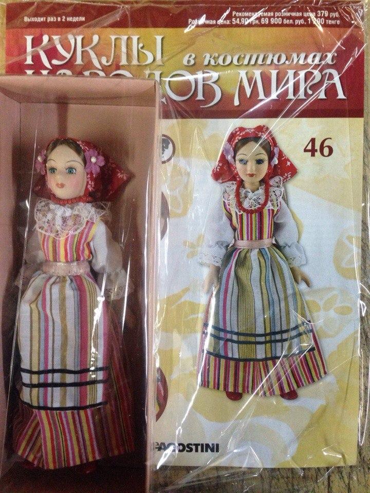Куклы в Костюмах Народов Мира №46 - Польша