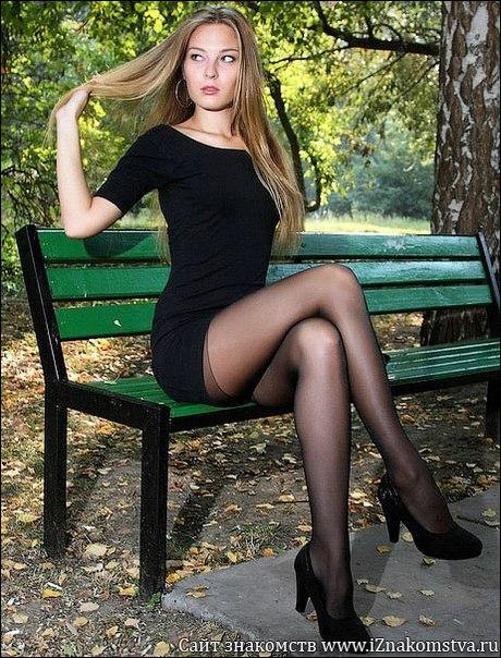 Русские в чулках девушки фото