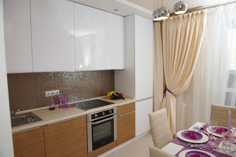 Интерьер квартиры почти 28 м в Тюмени.