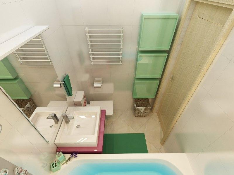 Еще один проект квартиры 31,5 м от студии Арго-Дизайн, Тюмень.