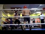 Мой бой в соревнованиях по кикбоксингу К1