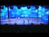 Зима, эстрадный балет Апельсин, Екатеринбург. Постановщик: Юлия Елескина, Екатеринбург.