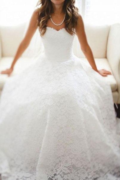 Свадебные платья своей мечты