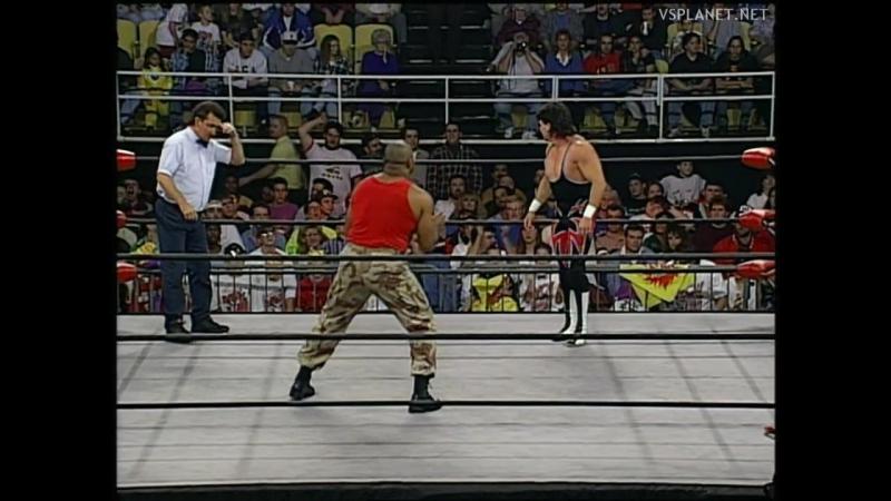 Eddie Guerrero vs Sgt. Craig Pittman, WCW Monday Nitro 31.10.1995