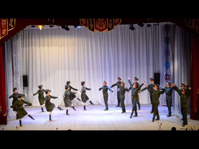 Ансамбль имени Файзи Гаскарова,танец солдатский пляс,солдат бейеуе,г Баймак