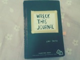 WTJ / Wreck this journal / Блокнот