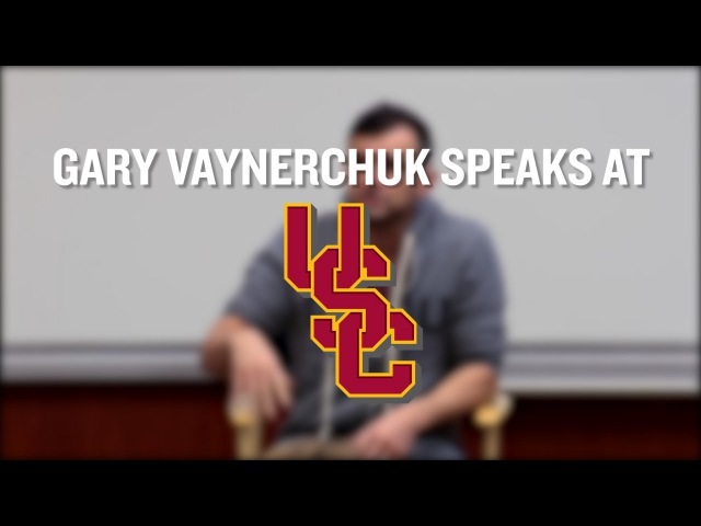 Entrepreneurship Keynote Gary Vaynerchuk at USC 2015