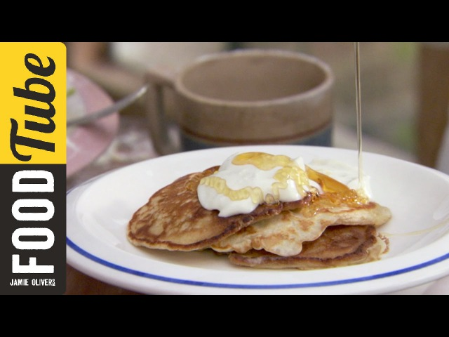 How To Make One Cup Pancakes Jamie Oliver