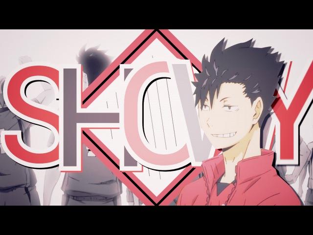 Kuroo is looking like this ヾ(*´∀`*)ノ
