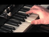 LESSON 4 - HOW TO PLAY JAZZ &amp ROCK LICKS ON A HAMMOND B3 or C3 ORGAN