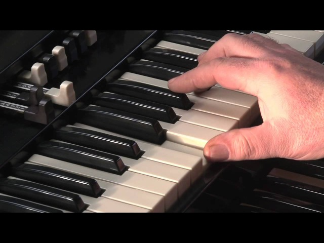 LESSON 4 - HOW TO PLAY JAZZ ROCK LICKS ON A HAMMOND B3 or C3 ORGAN