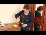 Как заточить ножницы в домашних условиях стаканом