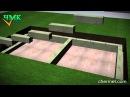 Как построить подвал из бетонных блоков