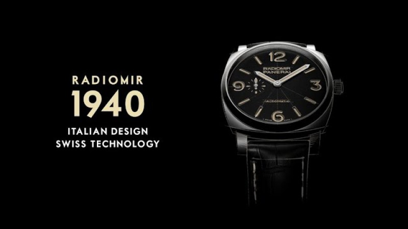 Radiomir 1940 Italian elegance Timeless design and Swiss technology