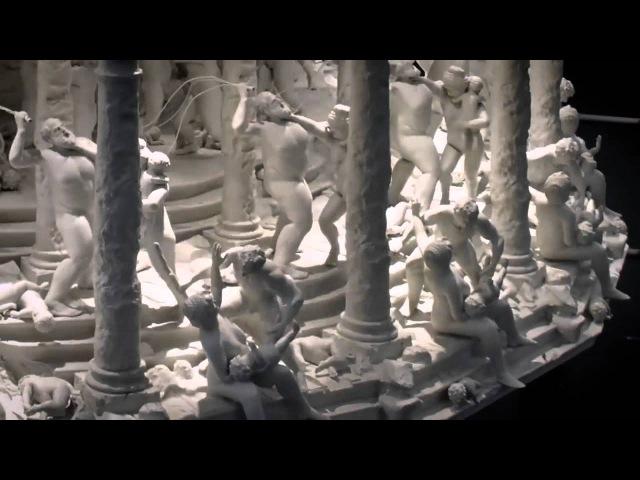3D-печатный зоотроп по картине Избиение младенцев Рубенса