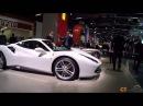 Francfort 2015 : Ferrari 488 spider GTB