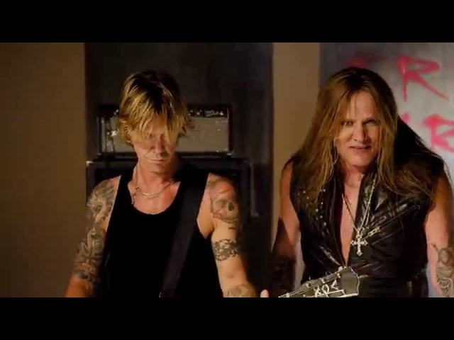 Sebastian Bach Duff Mckagen - All My Friends Are Dead (Official Video 2014 New Album)