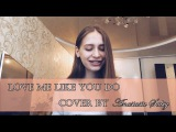 Ellie Goulding - Love me like you do ACOUSTIC PIANO COVER by Anastasia Sabiy