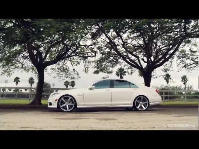 Mercedes Benz S63 AMG on 22 Vossen VVS-CV3 Concave Wheels / Rims