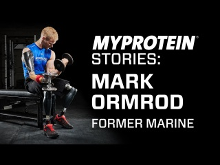 Mark Ormrod a former Marine and triple amputee shares his motivational story