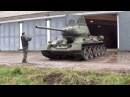 Танк Т-34-85 За Москву ! ☆