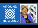 Half Square Triangles Around the World Quilt Easy Tutorial with Jenny Doan of Missouri Star